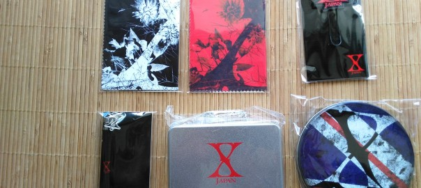 今日は、ローソンにてX JAPANグッズの発売日です