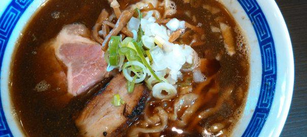 福島市金谷川駅前のラーメン屋「中華蕎麦こばや」へいってきました